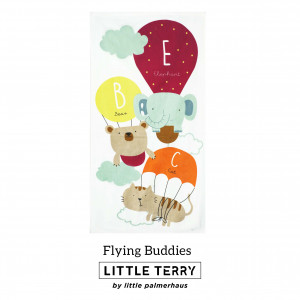FLYING BUDDIES LITTLE TERRY TOWEL