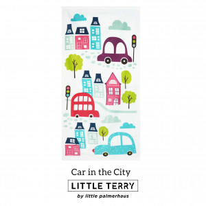 CAR IN THE CITY LITTLE TERRY TOWEL