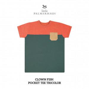 CLOWN FISH Pocket Tee Tricolor