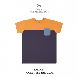 FALCON Pocket Tee Tricolor