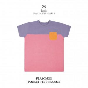 FLAMINGO Pocket Tee Tricolor