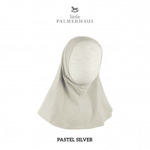 PASTEL SILVER Instant Hijab