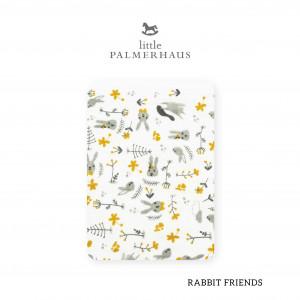 Rabbit Friends Tottori Baby Towel