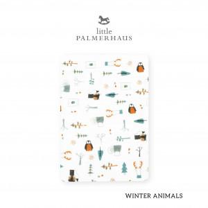 Winter Animals Tottori Baby Towel