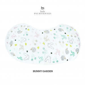 Bunny Garden Burp & Bib