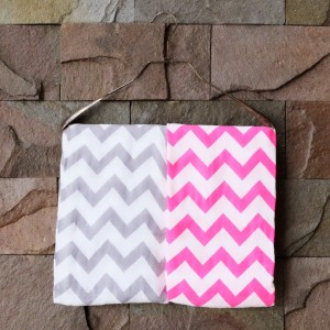 Chevron Muslin Swaddle, Set of 2