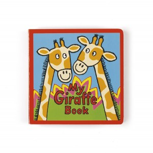 Jellycat My Giraffe Book