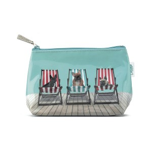 Catseye Deckchair Dogs Make-Up Bag