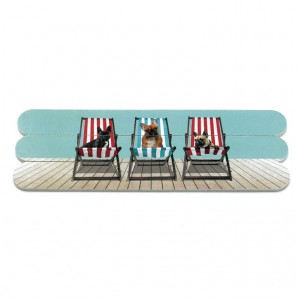 Catseye Deckchair Dogs Nail Files