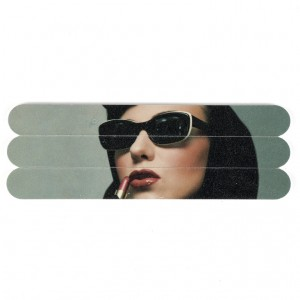 Catseye Lipstick Woman Nail Files
