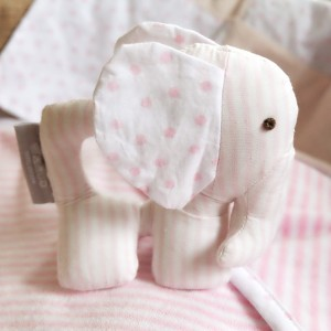 Pink Elly Rattle