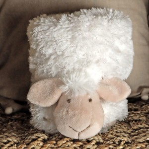 White Sheep Furry Blanket