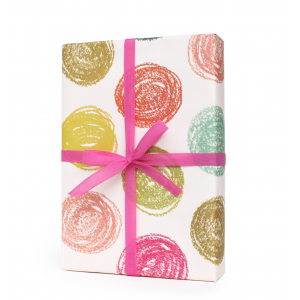 Party Dots Wrapping Sheet
