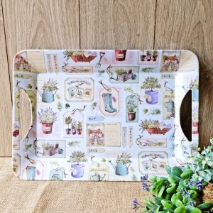 Herb Garden Luxury Handled Tray