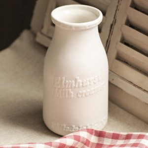 Ceramic Milk Bottle