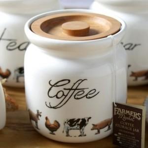 Farmers Market Tea Storage Jar