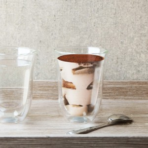 Jacky Double Walled Latte Glass