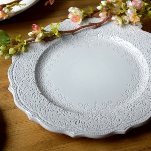 Katie Alice 'The Collection' Lace Embossed Dinner Plate