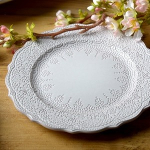 Katie Alice 'The Collection' Lace Embossed Side Plate
