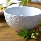 Katie Alice 'The Collection' Lace Embossed Cereal Bowl