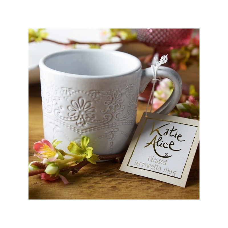 Katie Alice The Collection Lace Embossed Mug Palmerhaus