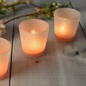 Mikasa Hush Set of 3 Ombre Tea Lights