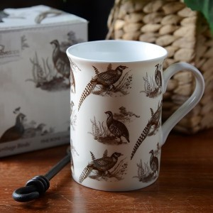 Heritage Birds Fine Bone China Mug In Gift Box