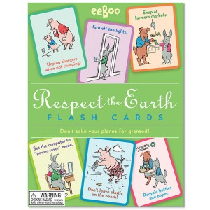 eeBoo Respect the Earth Flash Cards