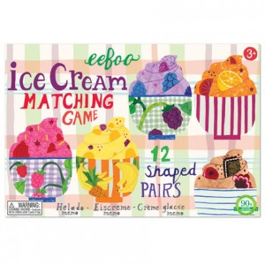 eeBoo Ice Cream Matching Game