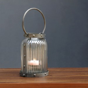 Round Matti Glass Tealight Holder