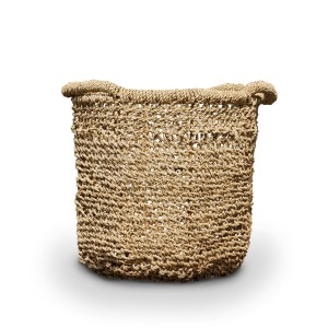 Olga Seagrass Diagonal Weaving Basket