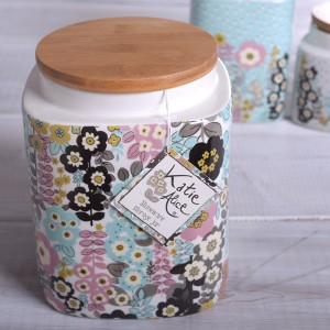 KA Pretty Retro Storage Jar