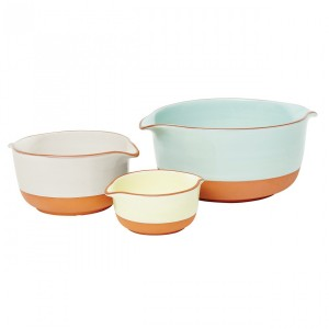 Terracotta Serving Bowls, Set of 3, Jamie Oliver