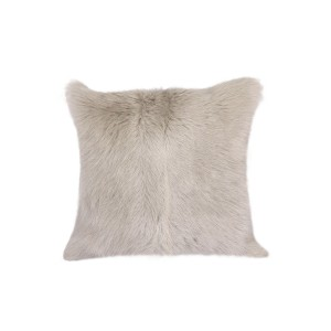 Brown Goatskin Cushion