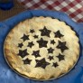 Stars & Cherries Pie Top Cutter, Nordicware