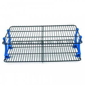 Stackable Cooling Rack, 2 Grids W/4 Legs, Nordicware