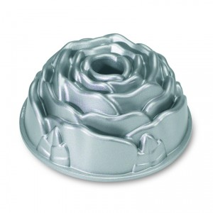 Cast Alum Rose Bundt Cake Pan,  Nordicware