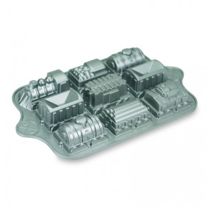 Cast Alum Train Cake Pan , Nordicware