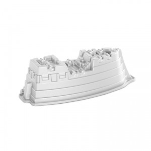 Cast Alum Pirate Ship Cake Pan , Nordicware