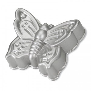 Cast Alum Butterfly Cake Pan, Nordicware