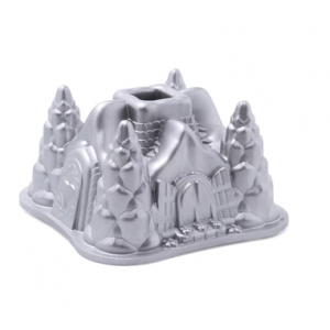 Cast Alum Fairytale Cottage Bundt Pan, Nordicware
