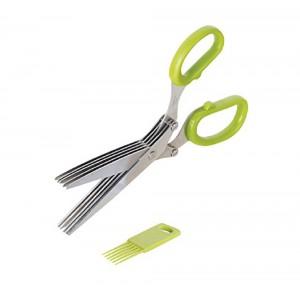 S/S Herb Scissors w/ 5 Blades, Westmark