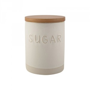 La Cafetiere Embossed Sugar Jar