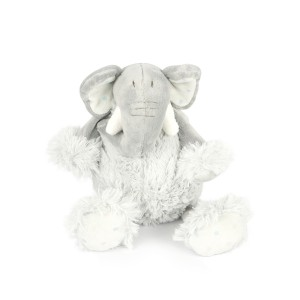 Grey Elephant Toy Ball