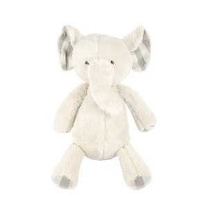 Grey Standing Elephant Plush Toy