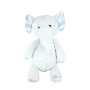 Blue Standing Elephant Plush Toy
