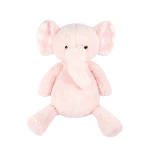 Pink Standing Elephant Plush Toy
