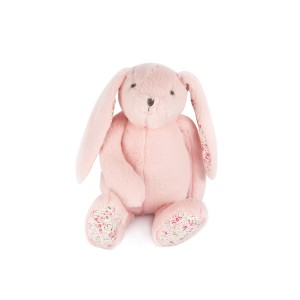 Pink Standing Bunny Plush Toy