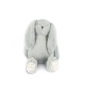 Grey Standing Bunny Plush Toy