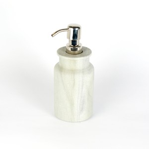 Fine Grey Stone Lotion Dispenser